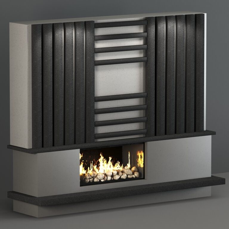 Fireplace 3D models - Download 3D models | 3dbaza.com