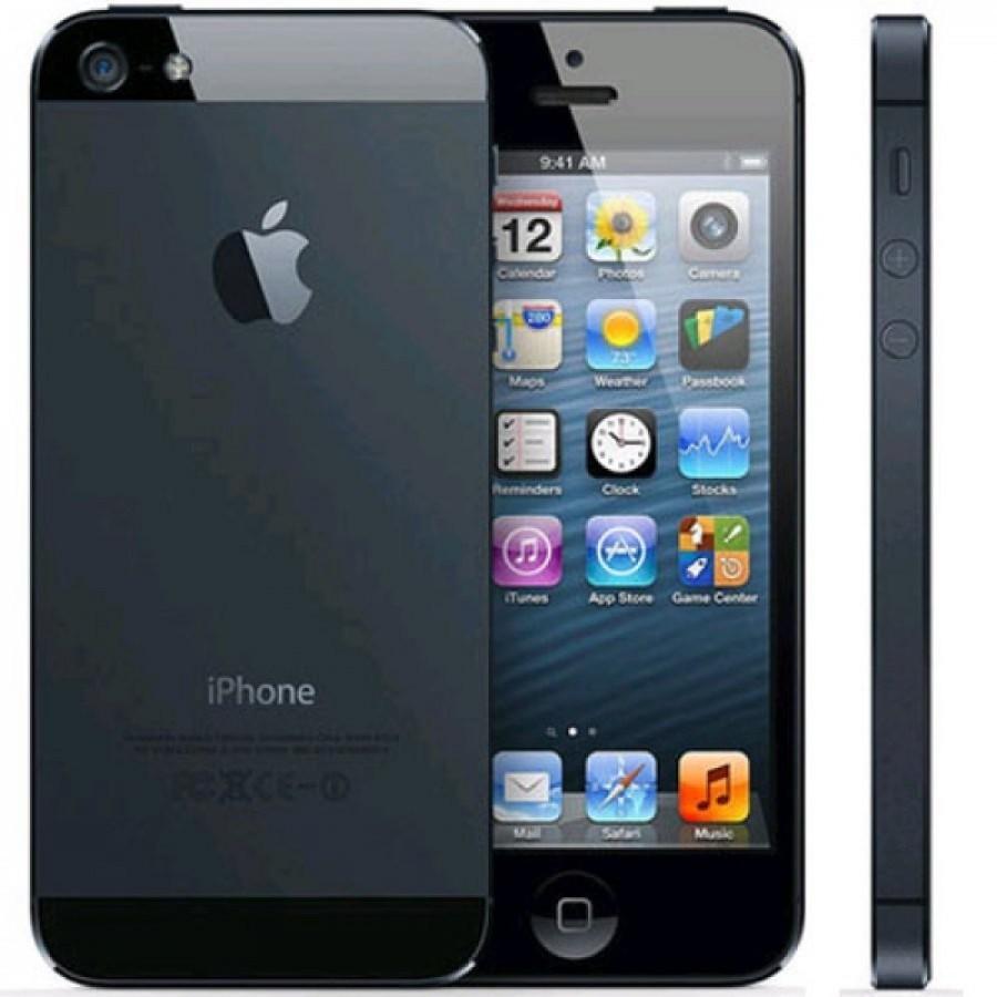Get Refurbished Apple iPhone 5 16GB Black, 8mpx iSight Camera