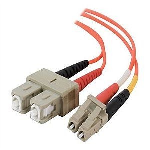 Multimode fibre patch leads