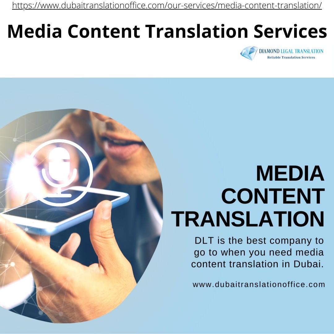 Media Content Translation services | DLT