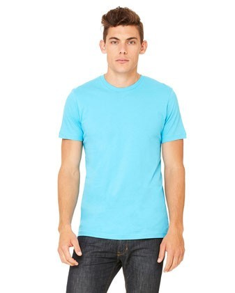 Bella + Canvas 3001C – Unisex Jersey Short Sleeve Blank T-shirt