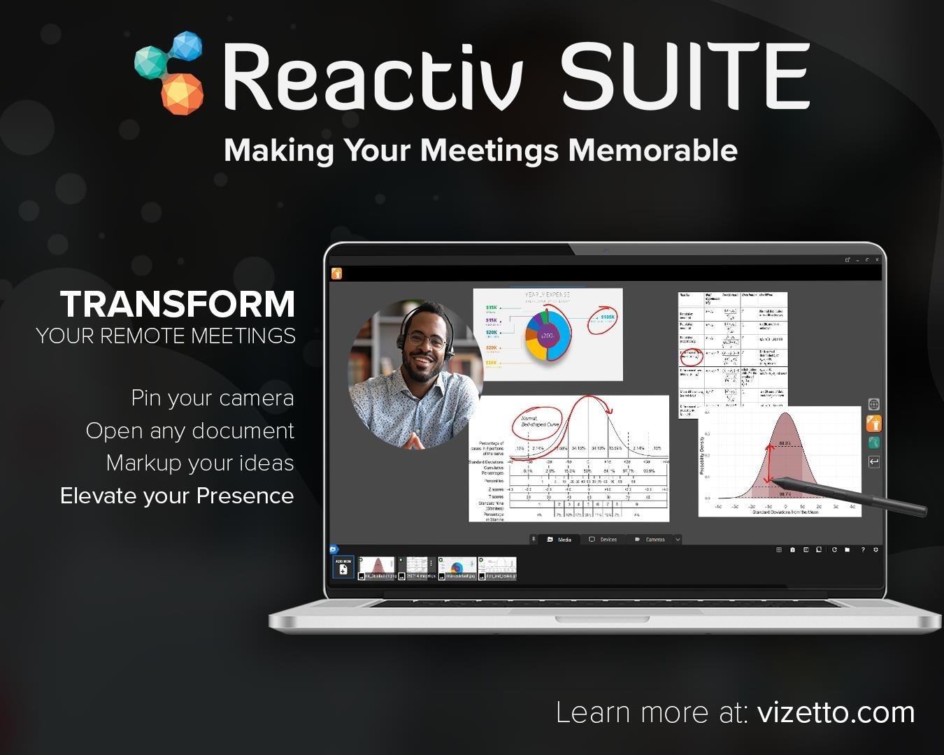 Zoom White Board V/S Reactiv Suite