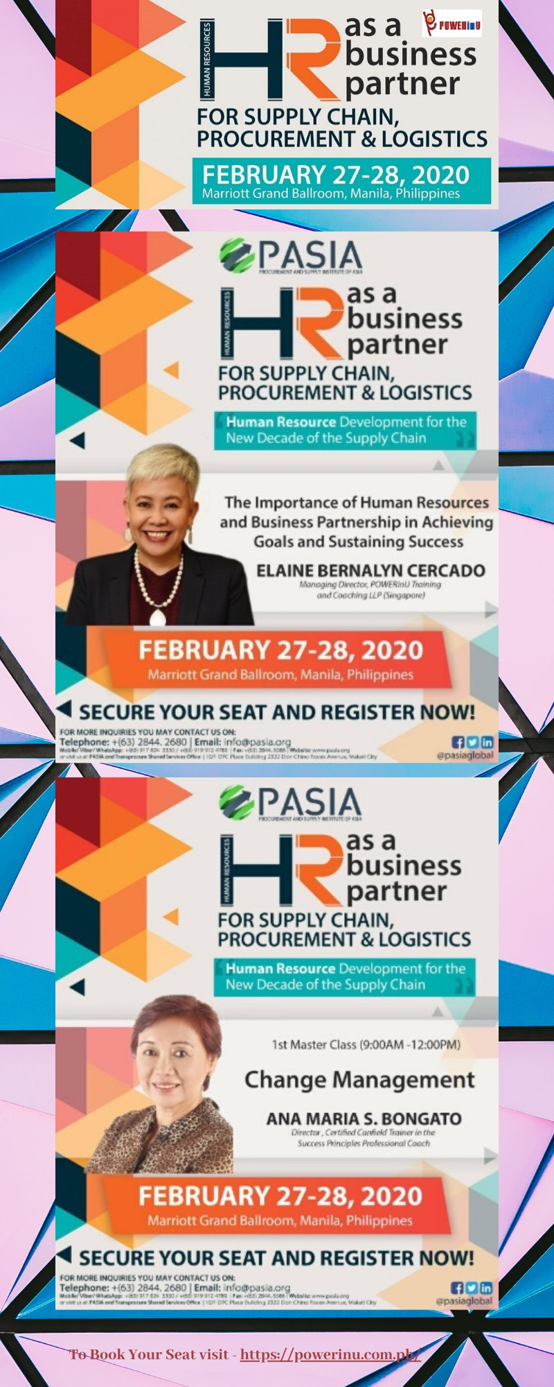 Human Resource and Supply Chain Event