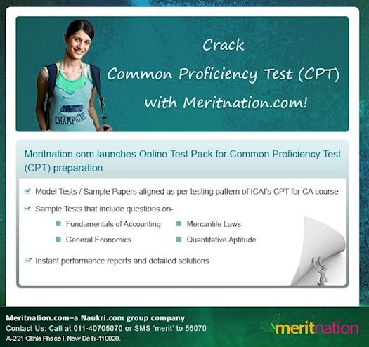 Crack Common Proficiency Test