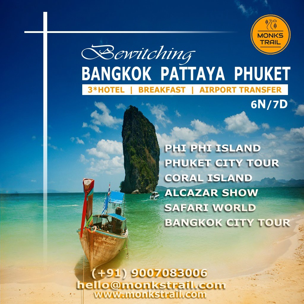 Bangkok Pattaya Phuket Tour Package