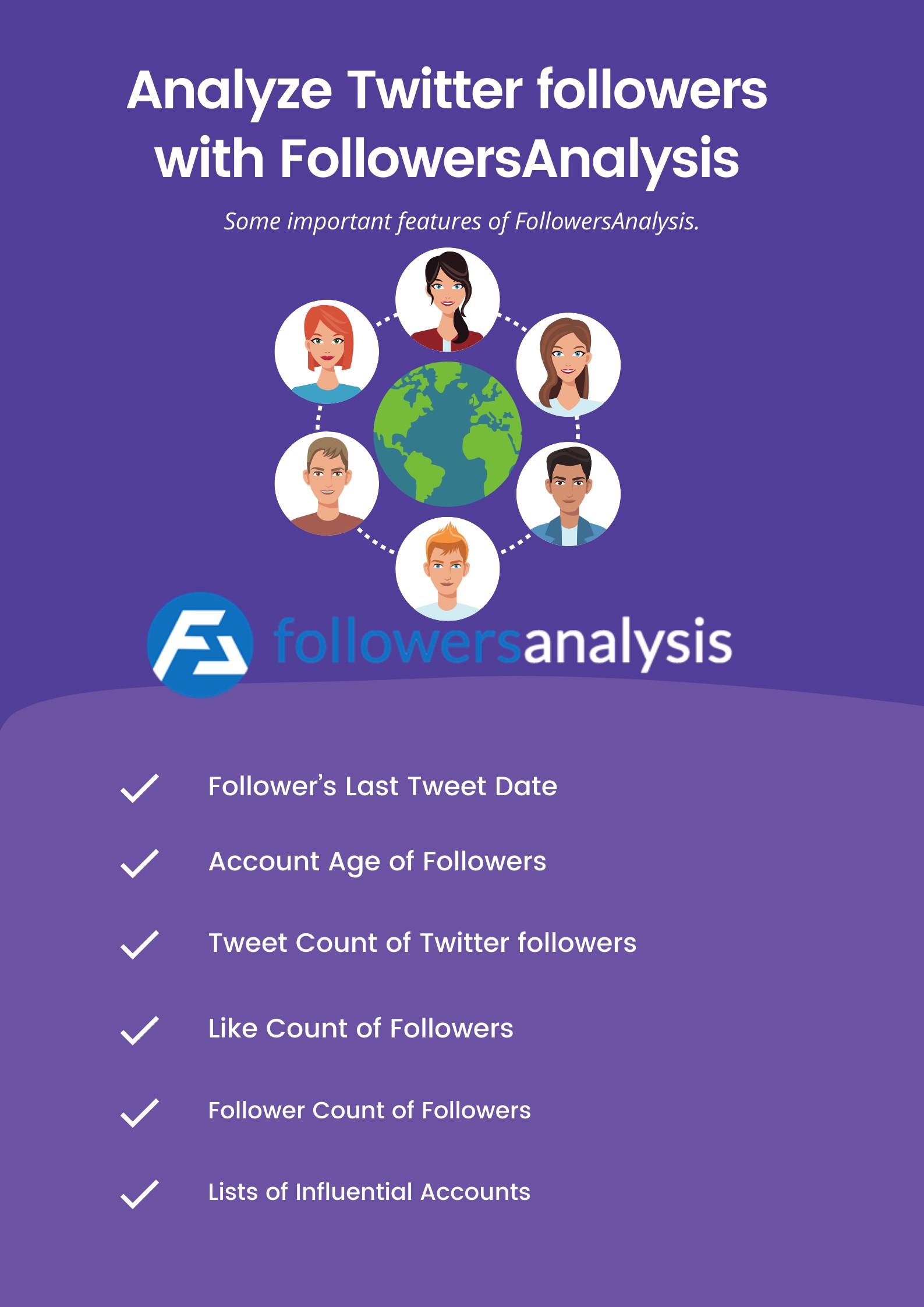 Analyze Twitter followers with FollowersAnalysis