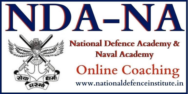 NDA 2021 Online Coaching | NDA Exam coaching-Join NDI for NDA