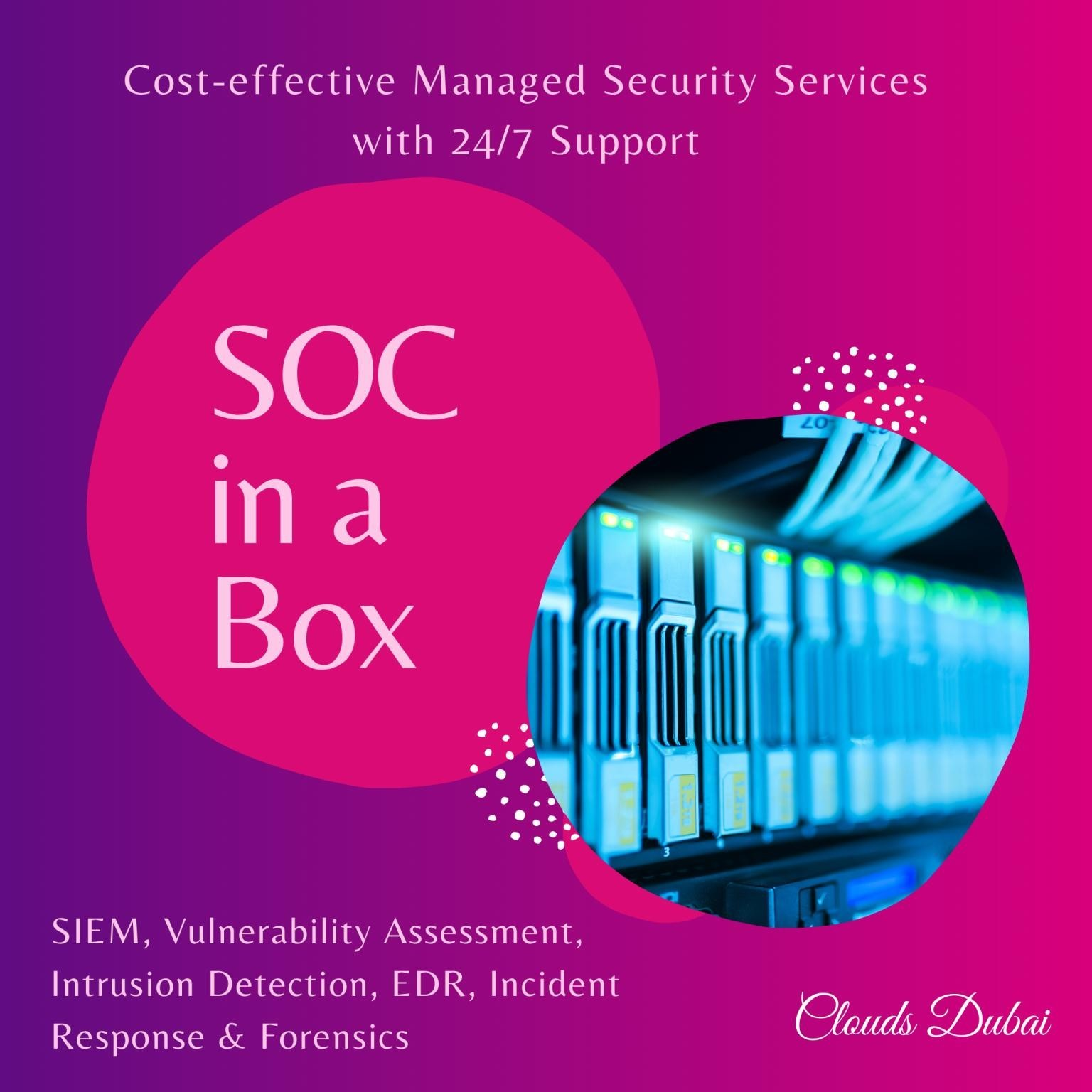 SOC In a Box offering