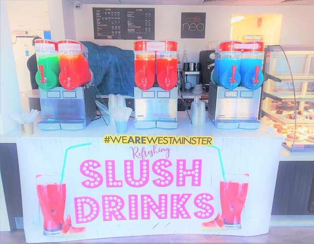 Slush machine hire london - Aylin Sweets London  02080880700 1