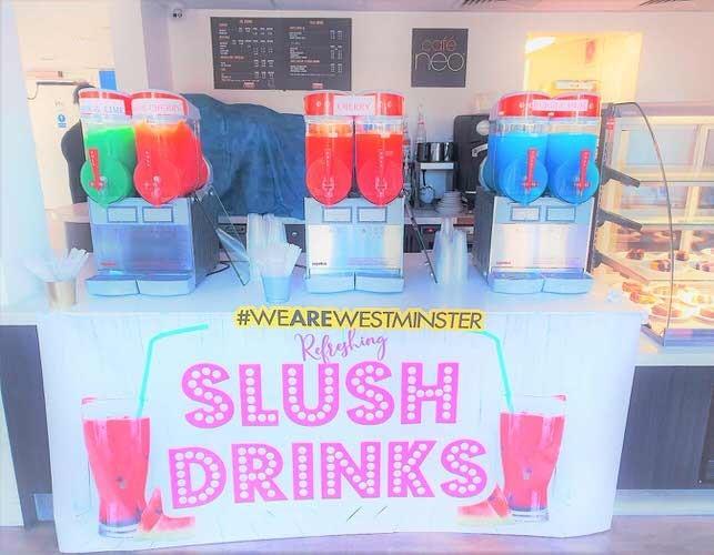 Slush machine hire london - Aylin Sweets London  02080880700 1