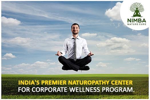 India's Premier Naturopathy Retreat for Corporate Wellness Program: Nimba Nature Cure