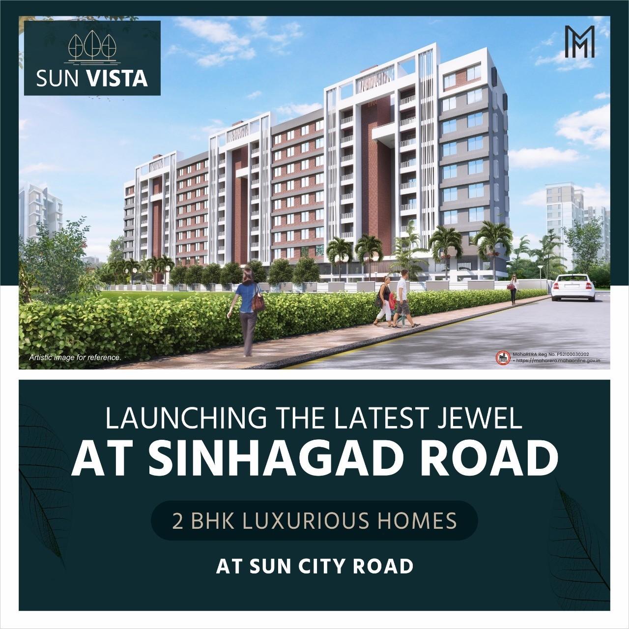 2 BHK Flats at Sun City Road | Sun Vista- Mittal Builders