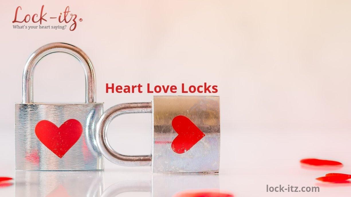 Heart Love Locks
