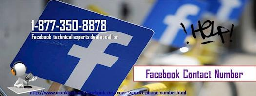 Toll free Facebook Contact Number 1-877-850-8878 to Take Help From Techies