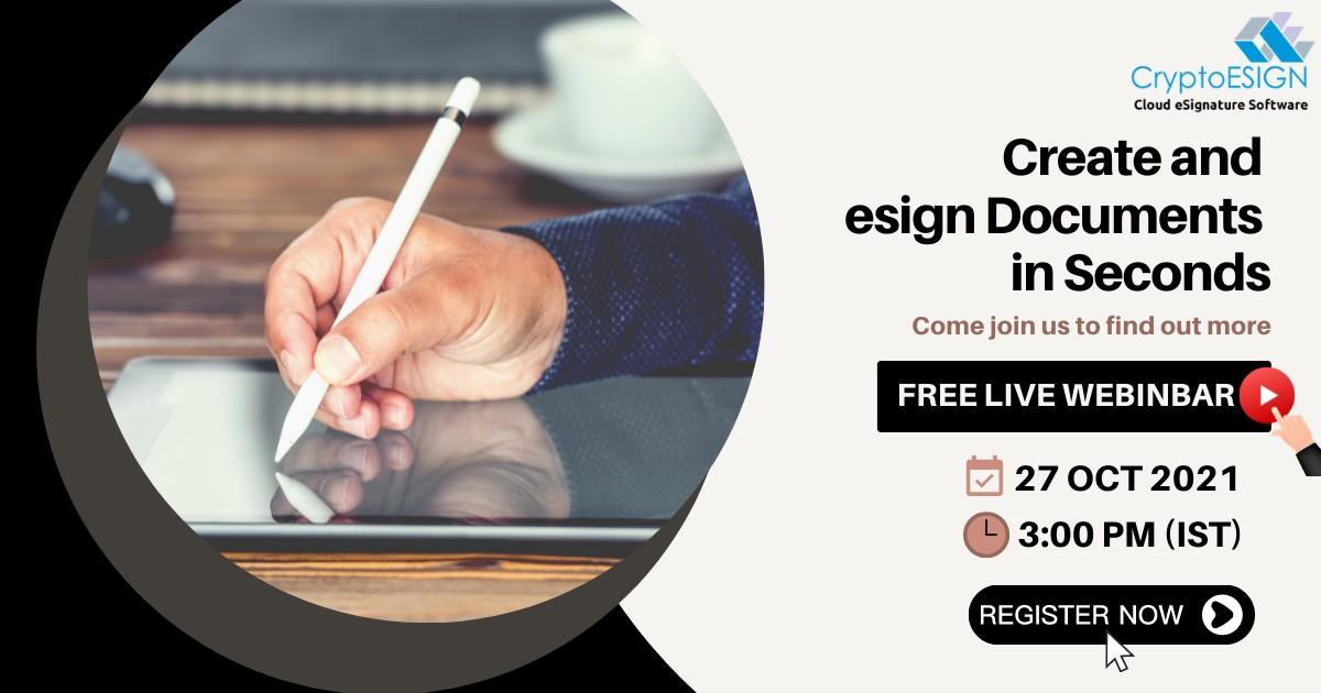 Best electronic signature webinar