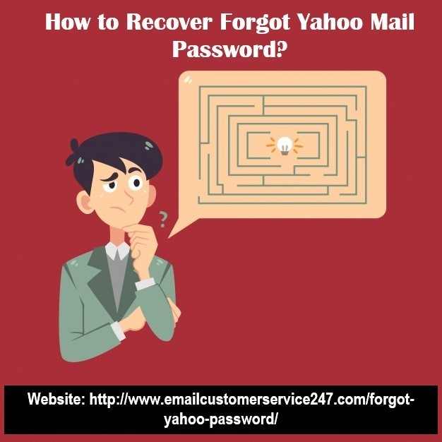 How to to Recover Forgot Yahoo Mail Password?