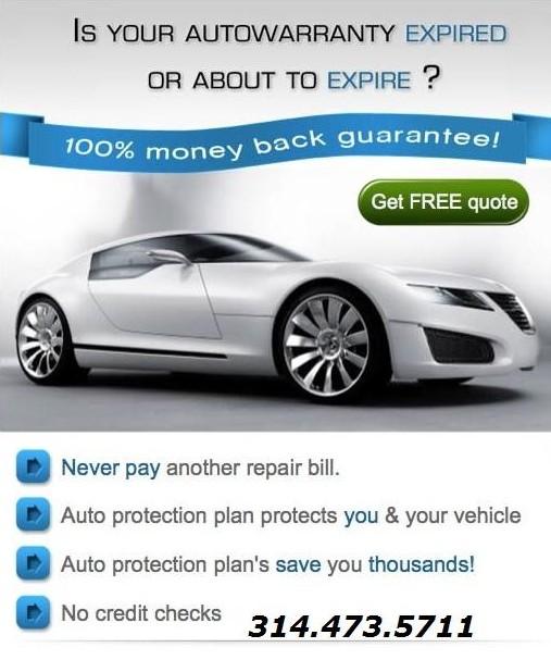 Auto Warranty, Car Protection,Stop Car Repairs,