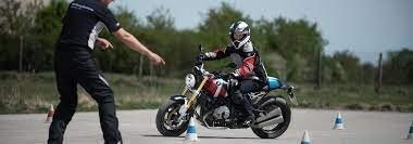 motorcycle riding test