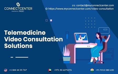 Telemedicine Video Consultation Solutions in USA | CONNECTCENTER