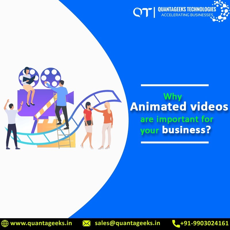 why animated video is important for your business