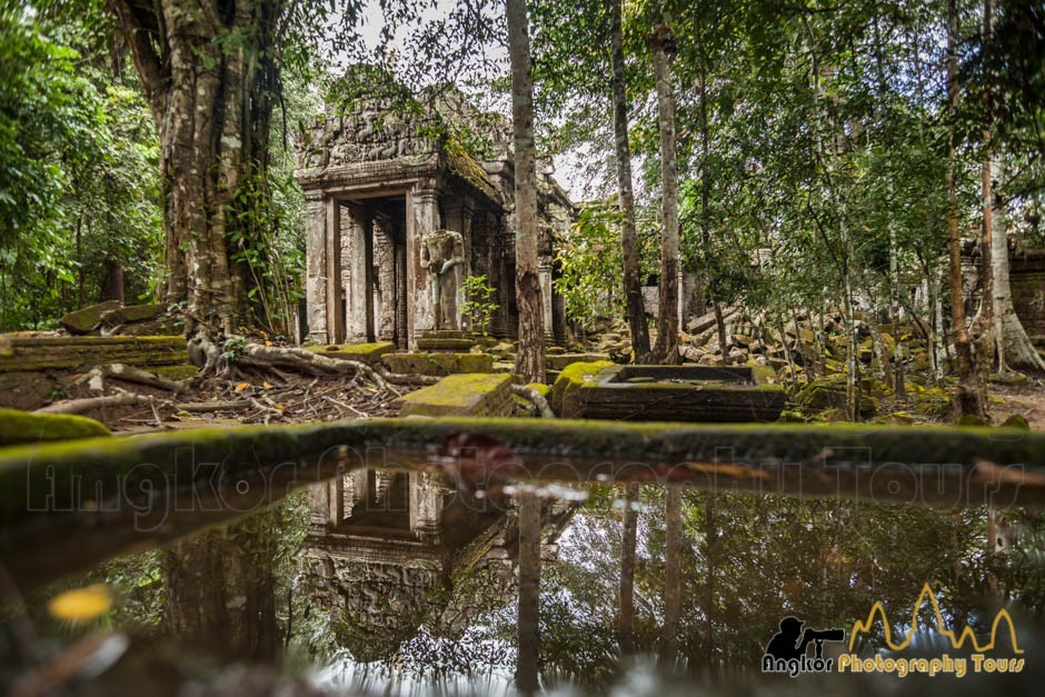 Preah Khan temple Angkor Cambodia