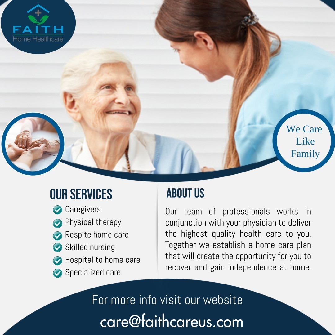 Best possible care for your loved one's.