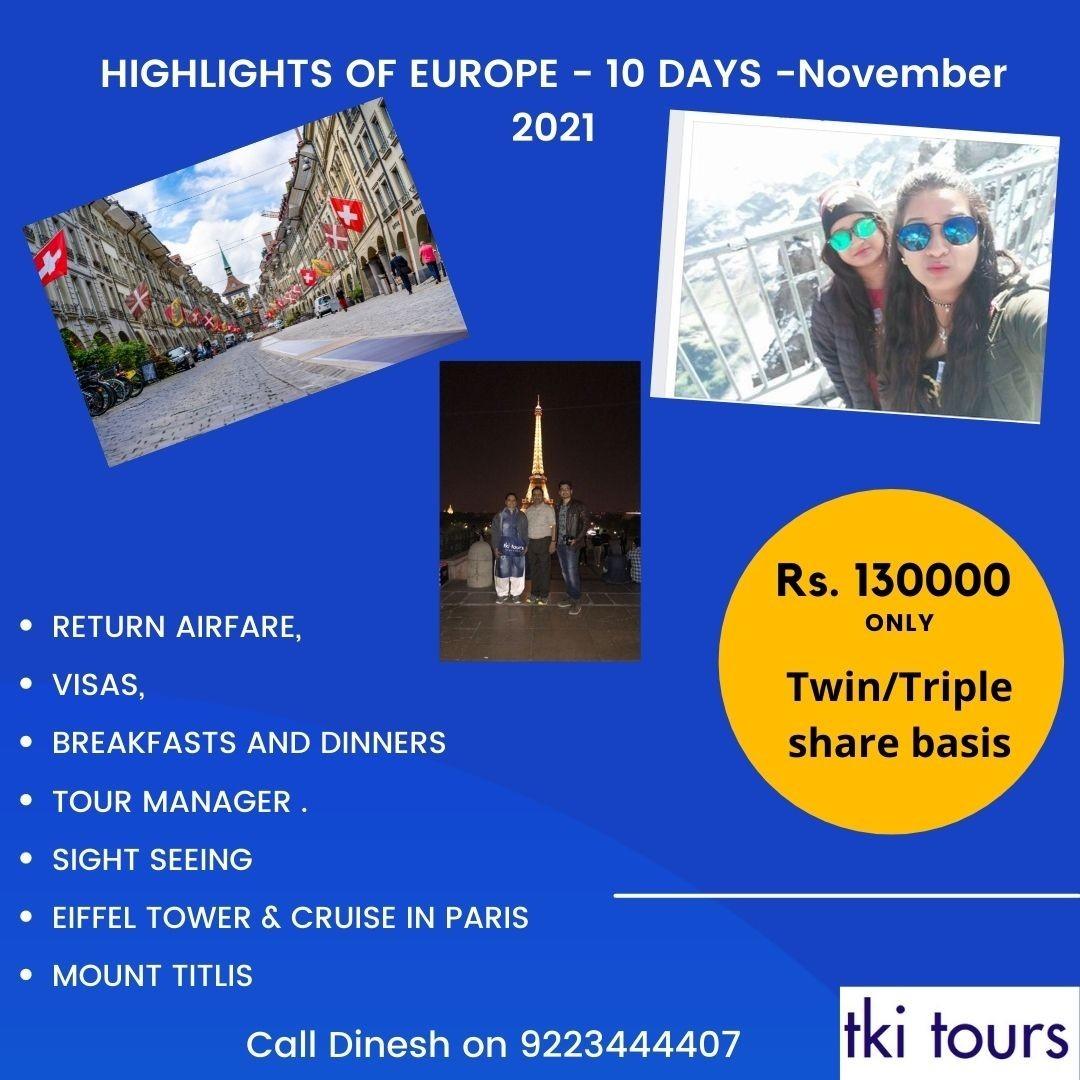 Highlights of Europe november 21