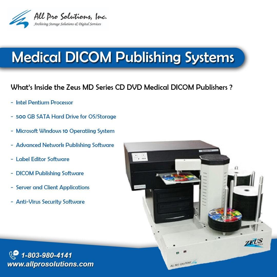 Medical Dicom Publishing System