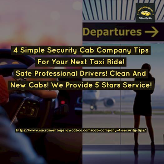 cab company security  tips.