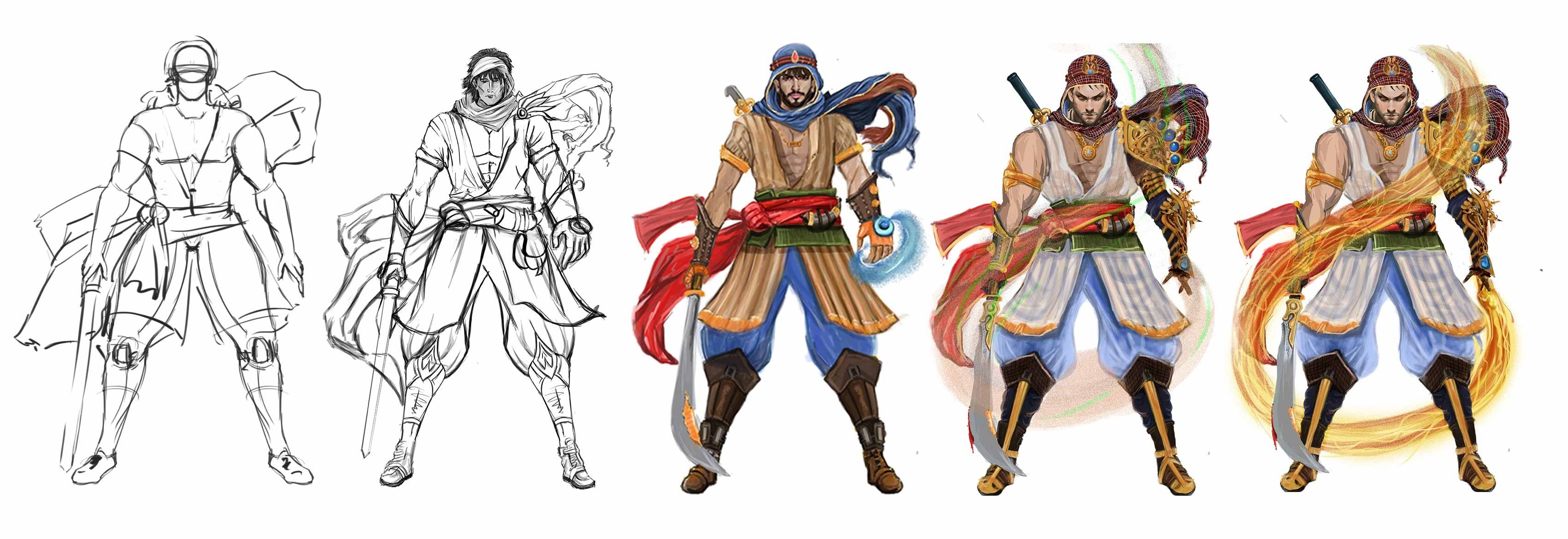 Character Concept Art Services by 3D Game Art Studio, Denton - Texas