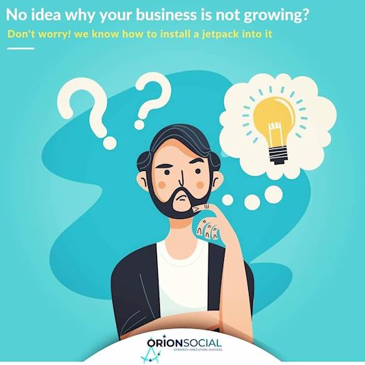 No idea why your business not growing