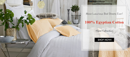 Luxurious goose down comforters