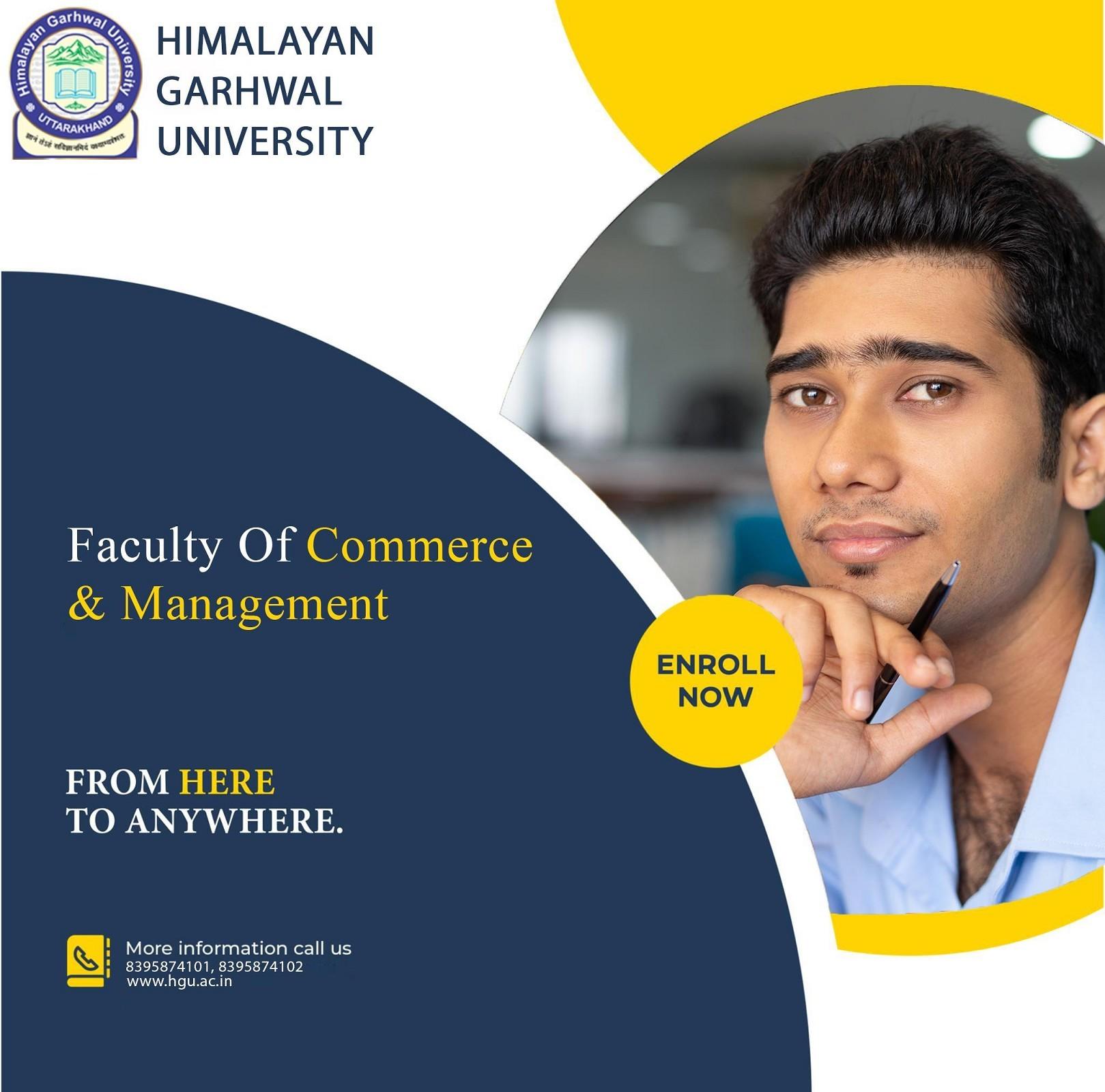 Himalayan Garhwal University Admission open: Post Graduate degree