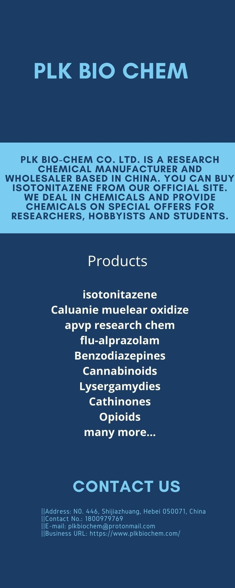 Compatible Manufacturers And Suppliers - Buy Flu-Alprazolam!