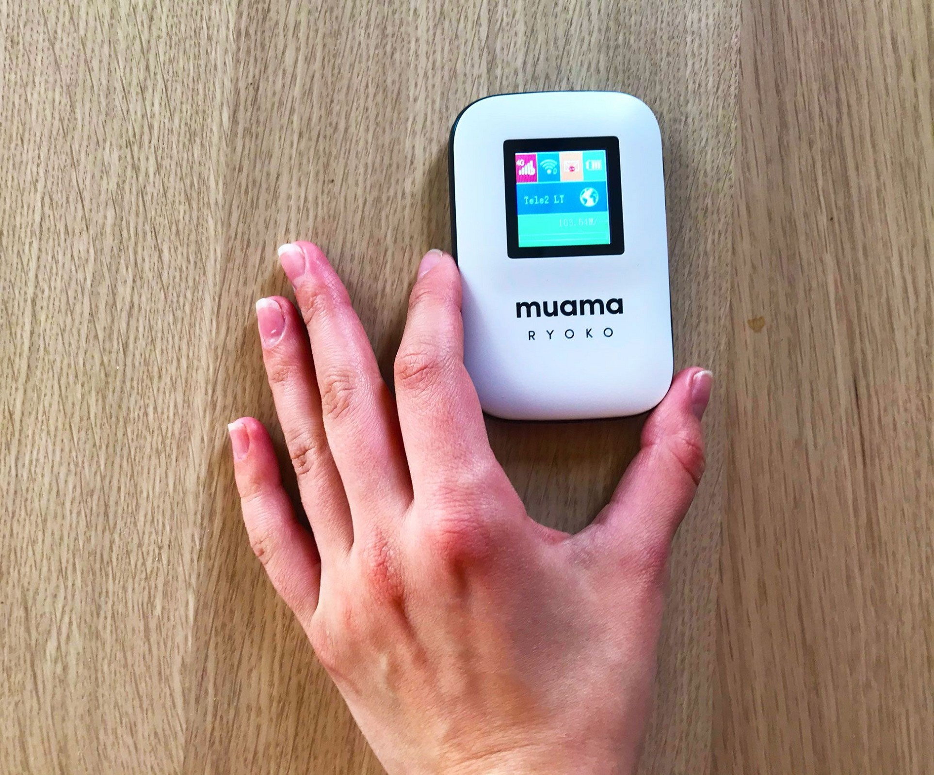Muama Ryoko - Portable Wifi Router