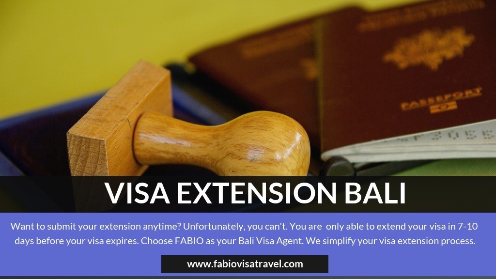 Visa Extension Bali