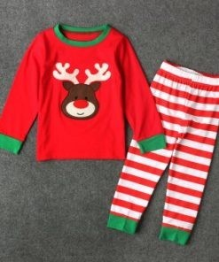 Check Out Matching Christmas Pajamas for Couples and Toddlers