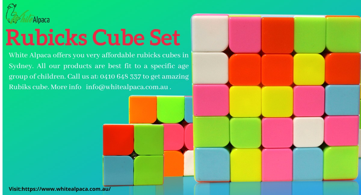 Rubicks Cube set | Every Child Need to Participate | Rubix cubes