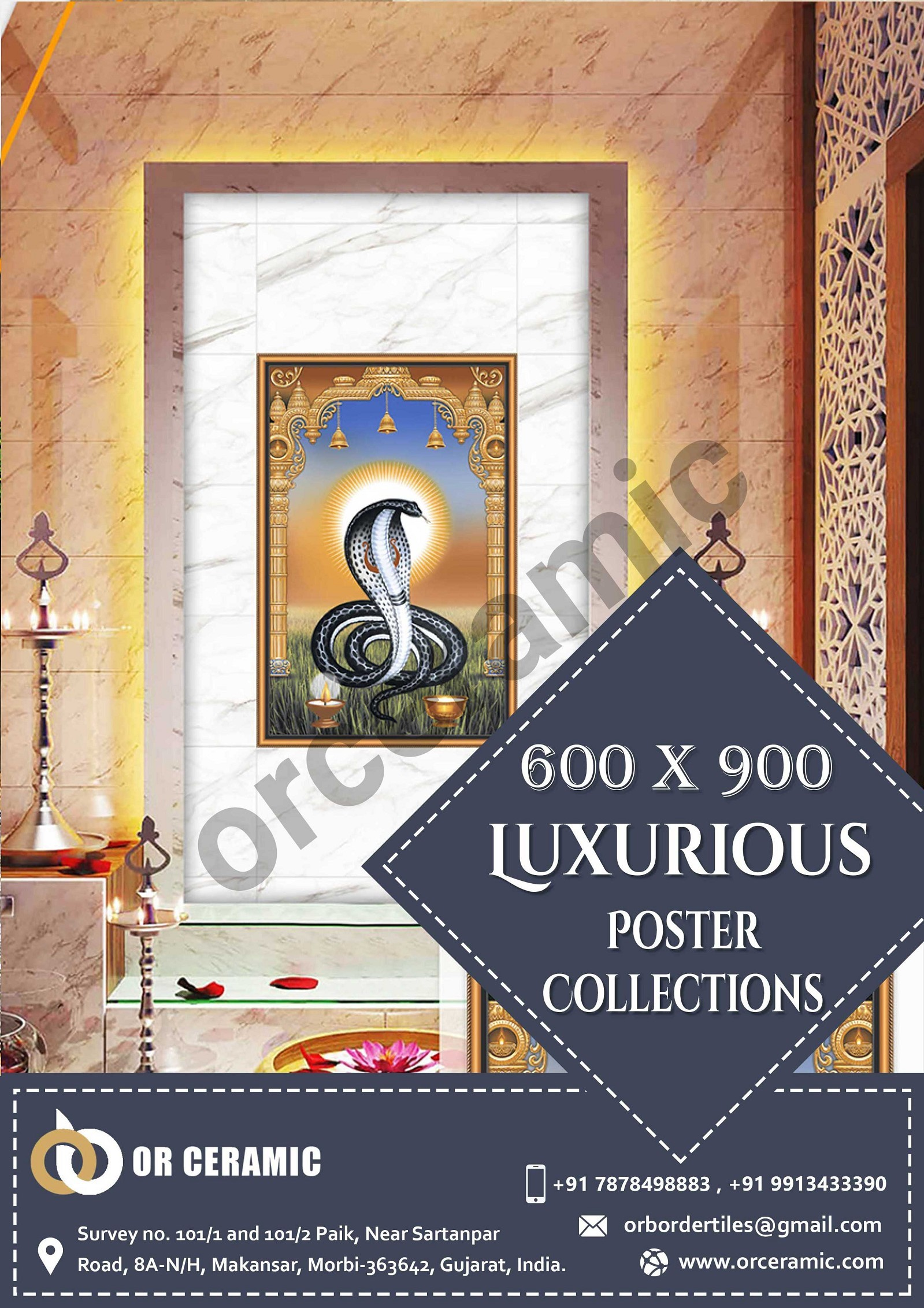Matt Poster Wall Tiles Manufacturers in India | Best Wall Tiles Company