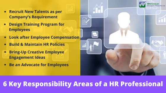 6 Key Responsibility Areas of a HR Professional