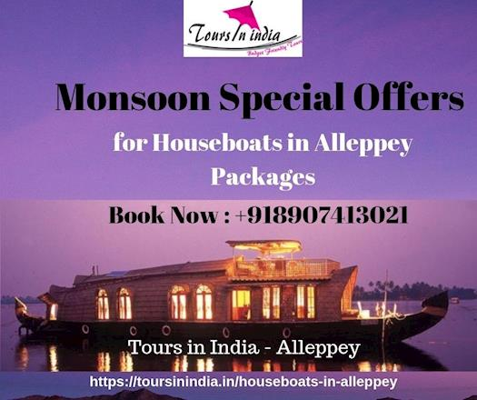 Houseboat Alleppey Packages