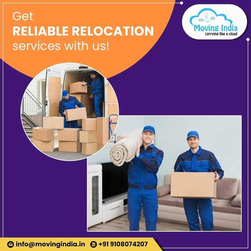 Get Reliable Relocation services with us!