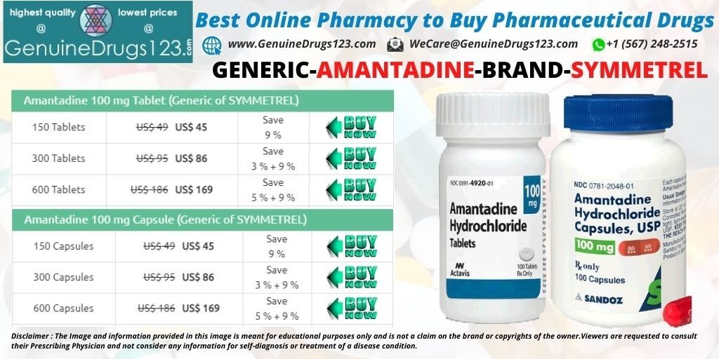 How Much Is Amantadine Cost?