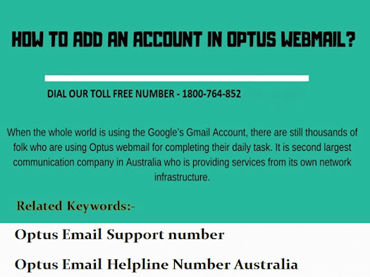 How to Add or Remove Additional Account from Optus Email