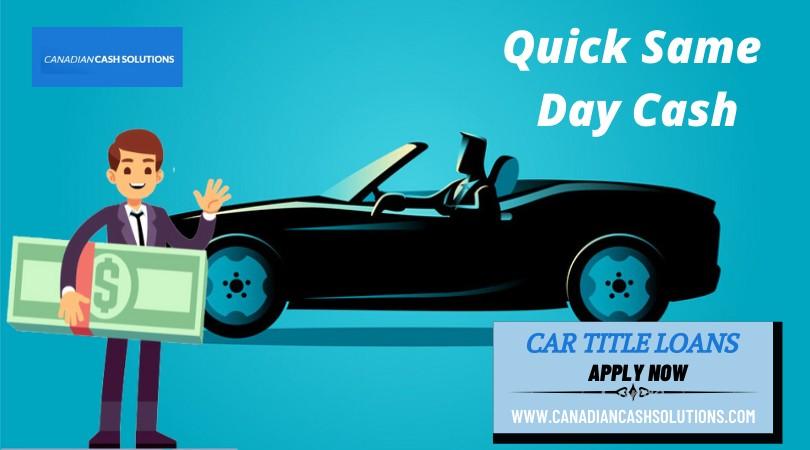 Car Title Loans Markham With Best Interest Rates