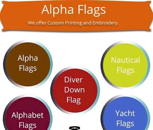 Alpha Flags App