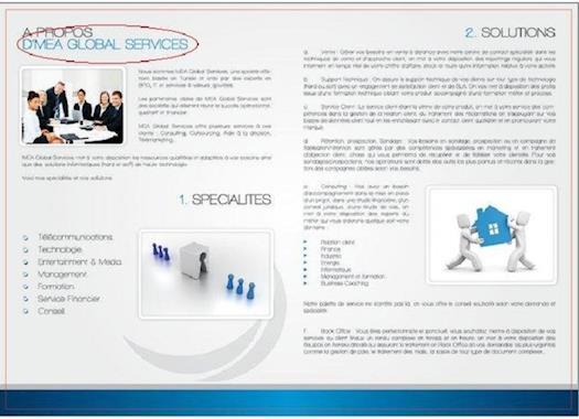 MEA Global Services Web Site