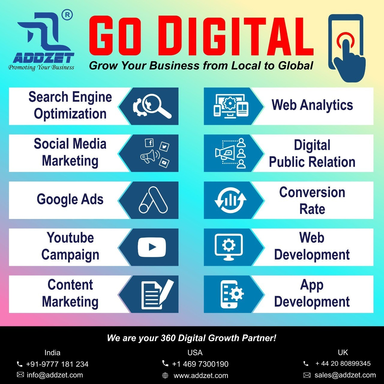 Go Digital - Grow Your Business From Local To Global