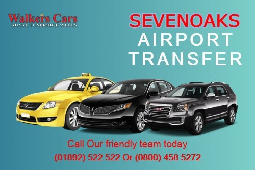 Hire luxury Sevenoaks to Gatwick Airport from Walkers Cars