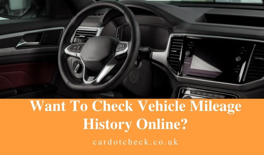 Car Mileage Checker